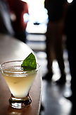 USA, California, Oakland, Chop Bar, Basil Gimlet