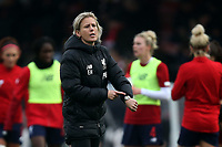 Liverpool first team coach Emma Humphries during Arsenal Women vs Liverpool Women, Barclays FA Women's Super League Football at Meadow Park on 24th November 2019