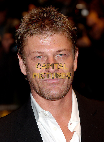 "SEAN BEAN.""National Treasure"" premiere.Odeon West End Cinema.London 5 December 2004..portrait headshot.Ref: PL.www.capitalpictures.com.sales@capitalpictures.com.©Capital Pictures..."