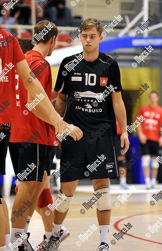2011-09-28 / Volleybal / seizoen 2011-2012 / Antwerpen-Waasland / Gijs JORNA ..Foto: Mpics