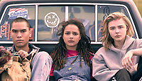 The Miseducation of Cameron Post (2018) <br /> Forrest Goodluck, Sasha Lane and Chlo&euml; Grace Moretz  <br /> *Filmstill - Editorial Use Only*<br /> CAP/MFS<br /> Image supplied by Capital Pictures