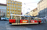 Trams around Prague, Czech Republic on February 28th to March 3rd 2018<br /> CAP/ROS<br /> &copy;ROS/Capital Pictures