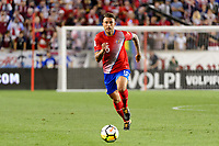 Harrison, NJ - Friday Sept. 01, 2017: Francisco Calvo during a 2017 FIFA World Cup Qualifier between the United States (USA) and Costa Rica (CRC) at Red Bull Arena.