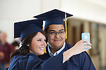1208-28 0084<br /> <br /> 1208-28 Summer Commencement<br /> <br /> Brigham Young University Summer Commencement <br /> <br /> Students smiling and posing for picture, Selfie, Cell Phone, Technology, Couple.<br /> <br /> August 9, 2012<br /> <br /> Photo by Jaren Wilkey<br /> <br /> &copy; Jaren Wilkey 2012<br /> All Rights Reserved<br /> jaren@byu.edu  (801)592-7585