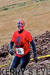 Carmel O'Sullivan enjoying the Hell Mountain Challenge in Portmagee on Saturday.