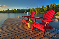 Muskoka chairs - Star Lake<br />