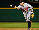 19 May 2007: Baltimore Orioles first baseman Kevin Millar in action against the Washington Nationals at RFK Stadium in Washington, DC. The Orioles defeated the Nationals 3-2 in the second game of the 3-game interleague series...Mandatory Photo Credit: Ed Wolfstein Photo