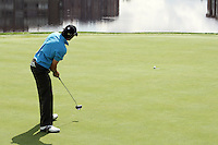 Carlos Rodiles putt drops in for a birdie on the 17th hole in the 3rd Round of the Open de Espana in Madrid...Photo NEWSFILE/Manus O'Reilly.(Photo credit should read Manus O'Reilly/NEWSFILE)....This Picture has been sent you under the condtions enclosed by:.Newsfile Ltd..The Studio,.Millmount Abbey,.Drogheda,.Co Meath..Ireland..Tel: +353(0)41-9871240.Fax: +353(0)41-9871260.GSM: +353(0)86-2500958.email: pictures@newsfile.ie.www.newsfile.ie.FTP: 193.120.102.198..