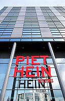 Nederland Amsterdam  2016 04 12. De Piet Hein Buildings op de Piet Heinkade.  Foto Berlinda van Dam / Hollandse Hoogte