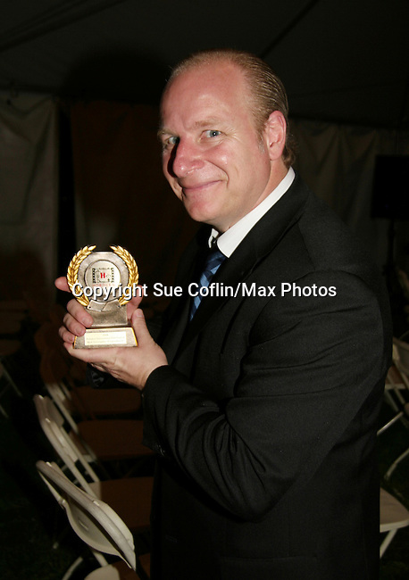 Mike Marino at the Gala Awards Ceremony of the 2008 Hoboken International Film Festival which concluded  with Billy Dee Williams being presented the Lifetime Achievement Award and then nominees and winners were announced on June 5, 2008 at Pier A Park, Hoboken, New Jersey.  (Photo by Sue Coflin/Max Photos)