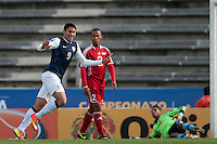 MARIO RODRIGUEZ PUEBLA -Mexico, March 1, 2013: The U.S. Under-20 Men's National Team advanced to the title match of the 2013 CONCACAF U-20 Championship with a 2-0 victory against Cuba at Estadio Cuauhtémoc. Mario Rodriguez and Daniel Cuevas scored three minutes apart and Cody Cropper recorded his second shutout of the tournament in putting the U.S. through to the final.