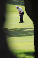 Francesco Molinari (ITA) during the final day of the  Andalucía Masters at Club de Golf Valderrama, Sotogrande, Spain. .Picture Fran Caffrey www.golffile.ie