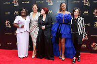 LOS ANGELES - MAY 5:  Sheryl Underwood, Carrie Ann Inaba, Sharon Osbourne, Eve, Sara Gilbert at the 2019  Daytime Emmy Awards at Pasadena Convention Center on May 5, 2019 in Pasadena, CA