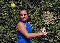 Hilversum, Netherlands, August 10, 2016, National Junior Championships, NJK, Gabriella Mujan (NED)<br /> Photo: Tennisimages/Henk Koster