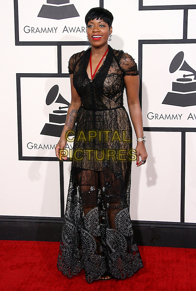 LOS ANGELES, CA - JANUARY 26 - Fantasia Barrino. 56th GRAMMY Awards held at the Staples Center. <br /> CAP/ADM<br /> &copy;AdMedia/Capital Pictures