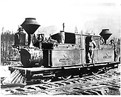D&amp;RGW locomotive (0-4-4-0T) &quot;Mountaineer&quot; Vulca Fairlie built in 1873 and received by D&amp;RGW In June 1873.<br /> D&amp;RGW  La Veta, CO