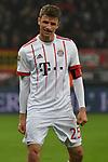 12.01.2018, BayArena, Leverkusen , GER, 1.FBL., Bayer 04 Leverkusen vs. FC Bayern M&uuml;nchen<br /> im Bild / picture shows: <br /> freut sich &uuml;ber das 3:1 Thomas M&uuml;ller / Mueller (Bayern Muenchen #25),   <br /> <br /> <br /> Foto &copy; nordphoto / Meuter