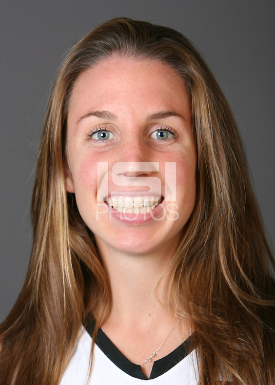 STANFORD, CA - AUGUST 14:  Heather Alcorn of the Stanford Cardinal women's field hockey team poses for a headshot on August 14, 2008 in Stanford, California.