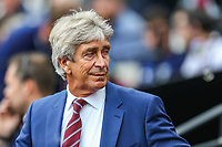 Manuel Pellegrini (Manager) of West Ham United during the Premier League match between West Ham United and Manchester City at the London Stadium, London, England on 10 August 2019. Photo by David Horn.