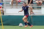 19 August 2014: Heather O'Reilly. The United States Women's National Team held a public training session at WakeMed Stadium in Cary, North Carolina.