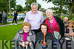 l-r  Ann McCormack, Eileen Connelly, PJ Herlihy and Ann Marie Griffin  at the annual Mass in Connolly Park, Tralee on Friday