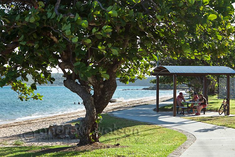 Victoria Parade foreshore.  Thursday Island, Torres Strait Islands, Queensland, Australia