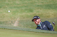Jimmy Walker (USA) hits from the trap on 2 during Round 4 of the Valero Texas Open, AT&amp;T Oaks Course, TPC San Antonio, San Antonio, Texas, USA. 4/22/2018.<br /> Picture: Golffile | Ken Murray<br /> <br /> <br /> All photo usage must carry mandatory copyright credit (&copy; Golffile | Ken Murray)