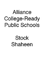 Alliance Stock Shaheen