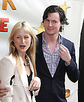 Mamie Gummer & Benjamin Walker.attendingthe Broadway Opening Night Performance of 'Peter And The Starcatcher' at the Brooks Atkinson Theatre on 4/15/2012 in New York City.