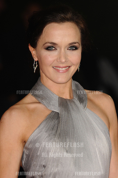 Victoria Pendleton arriving for the Royal World Premiere of 'Skyfall' at Royal Albert Hall, London. 23/10/2012 Picture by: Steve Vas / Featureflash