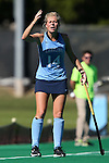 25 October 2014: North Carolina's Emma Bozek. The University of North Carolina Tar Heels hosted the Wake Forest University Demon Deacons at Francis E. Henry Stadium in Chapel Hill, North Carolina in a 2014 NCAA Division I Field Hockey match. UNC won the game 3-1.