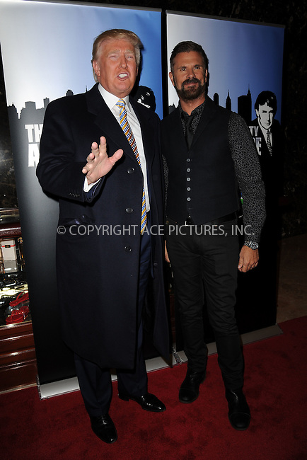 WWW.ACEPIXS.COM<br /> January 20, 2015 New York City<br /> <br /> Donald Trump and Lorenzo Lamas attending 'Celebrity Apprentice' Red Carpet Event at Trump Tower on January 20, 2015 in New York City<br /> <br /> Please byline: Kristin Callahan/AcePictures<br /> <br /> ACEPIXS.COM<br /> <br /> Tel: (212) 243 8787 or (646) 769 0430<br /> e-mail: info@acepixs.com<br /> web: http://www.acepixs.com