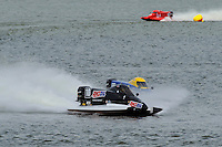 Terry Rinker, (#10) passes leader Rob DiNicolantonio (#73) into a turn.  (SST-120 class)
