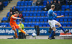 St Johnstone v Dundee Utd....21.04.12   SPL.John Rankin scores to make it 2-0.Picture by Graeme Hart..Copyright Perthshire Picture Agency.Tel: 01738 623350  Mobile: 07990 594431