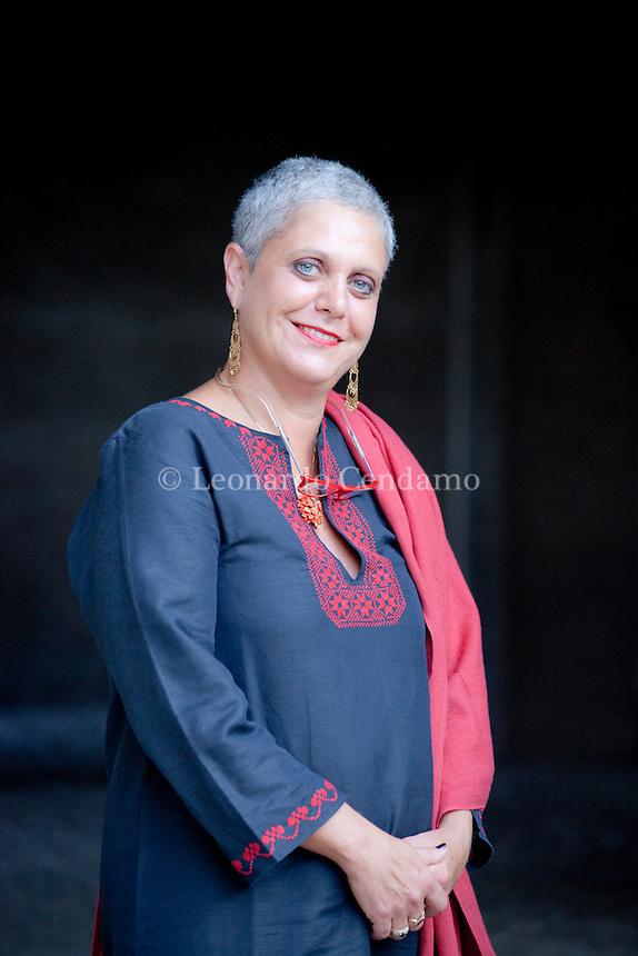 Paola caridi, italian writer. Mantova, 2011.  © Leonardo Cendamo