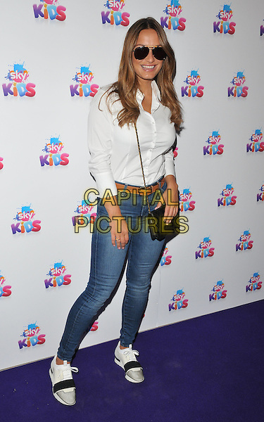 Sam Faiers at the Sky Kids Cafe VIP launch party, The Vinyl Factory, Marshall Street, London, England, UK, on Sunday 29 May 2016.<br /> CAP/CAN<br /> &copy;CAN/Capital Pictures