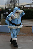 3rd December 2017, Etihad Stadium, Manchester, England; EPL Premier League football, Manchester City versus West Ham United; Manchester City get in the Christmas spirit as City Santa makes  a appearance
