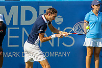 Washington, DC - August 4, 2019:  Daniil Medvedev (RUS) hits a backhand shot during the Citi Open ATP Singles final at William H.G. FitzGerald Tennis Center in Washington, DC  August 4, 2019.  (Photo by Elliott Brown/Media Images International)