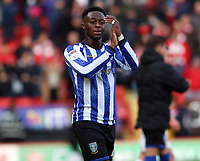 Moses Odubajo of Sheffield Wednesday thanks the fans during Charlton Athletic vs Sheffield Wednesday, Sky Bet EFL Championship Football at The Valley on 30th November 2019
