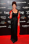 Actress Veronica Forque attends Goya Cinema Awards 2014 red carpet at Centro de Congresos Principe Felipe on February 9, 2014 in Madrid, Spain. (ALTERPHOTOS/Victor Blanco)