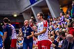 LENZ, Mathias (#12 DIE EULEN LUDWIGSHAFEN) \ beim Spiel in der Handball Bundesliga, TVB 1898 Stuttgart - Die Eulen Ludwigshafen.<br /> <br /> Foto &copy; PIX-Sportfotos *** Foto ist honorarpflichtig! *** Auf Anfrage in hoeherer Qualitaet/Aufloesung. Belegexemplar erbeten. Veroeffentlichung ausschliesslich fuer journalistisch-publizistische Zwecke. For editorial use only.