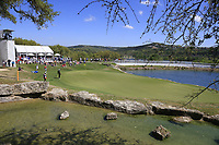 Hideki Matsuyama (JPN) andRoss Fisher (ENG) on the 11th during the 2nd round at the WGC Dell Technologies Matchplay championship, Austin Country Club, Austin, Texas, USA. 23/03/2017.<br /> Picture: Golffile | Fran Caffrey<br /> <br /> <br /> All photo usage must carry mandatory copyright credit (&copy; Golffile | Fran Caffrey)