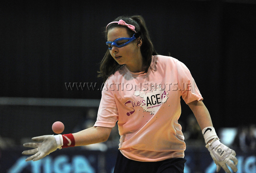17th November 2013; Heather Bourke. She's Ace - Women in handball event, Breaffy House Sports Arena, Castlebar, Co Mayo. Picture credit: Tommy Grealy/actionshots.ie.