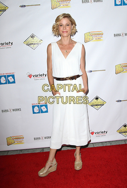 17 April 2016 - Los Angeles, California - Julie Bowen. Milk + Bookies 7th Annual Story Time Celebration held at the California Market Center. Photo Credit: AdMedia<br /> CAP/ADM<br /> &copy;ADM/Capital Pictures