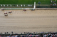 LOUISVILLE, KY - MAY 06: Always Dreaming #5, ridden by John Velazquez, wins the 143rd Kentucky Derby  on Kentucky Derby Day at Churchill Downs on May 6, 2017 in Louisville, Kentucky. (Photo by Jon Durr/Eclipse Sportswire/Getty Images)