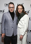 Jon Robin Baitz and Jordan Roth attends the 2019 DGF Madge Evans And Sidney Kingsley Awards at The Lambs Club on March 18, 2019 in New York City.