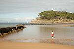 Lekeitio Beach and Island, Basque Country, Spain