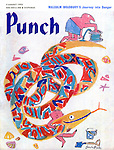 Punch (Front cover, 4 August 1965)