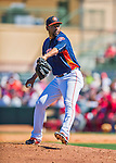 4 March 2016: Houston Astros pitcher Cesar Valdez on the mound during a Spring Training pre-season game against the St. Louis Cardinals at Osceola County Stadium in Kissimmee, Florida. The Astros defeated the Cardinals 6-3 in Grapefruit League play. Mandatory Credit: Ed Wolfstein Photo *** RAW (NEF) Image File Available ***