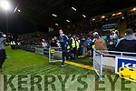 Kerry in action against Stephen Cluxton Dublin in the National League in Austin Stack park on Saturday night.